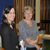 Catherine Muller, Education USA and Mary Peart, Head of ESD