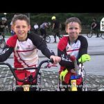 Two of Hong Kong's best BMX bikers are ten and eight years old